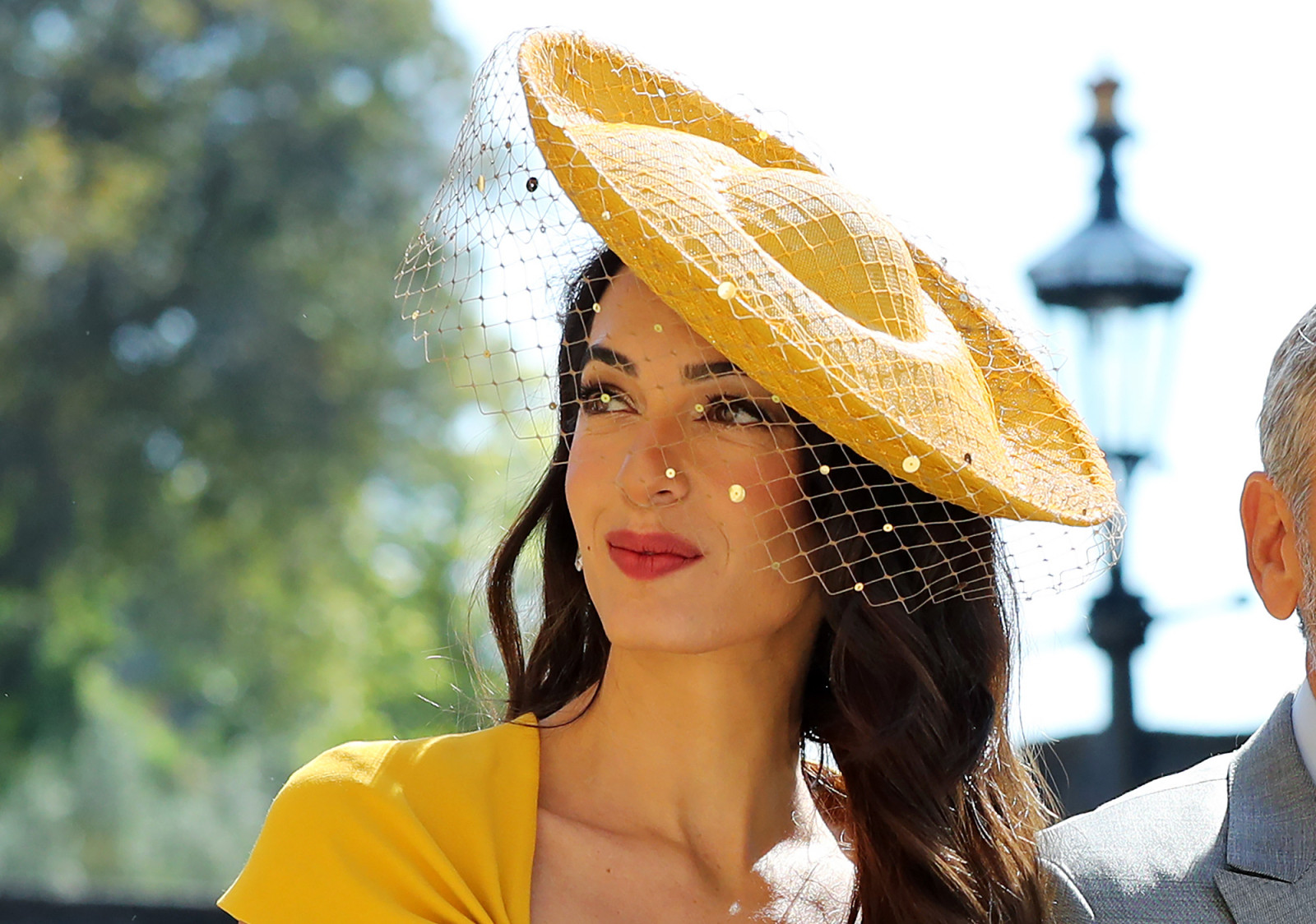 amal-clooney-wildest-fascinators-royal-wedding
