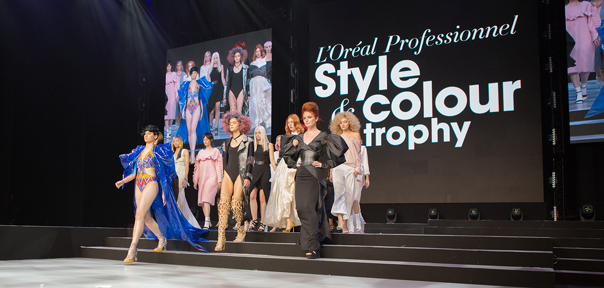 LOreal Professionnel Style and Colour Trophy 2018